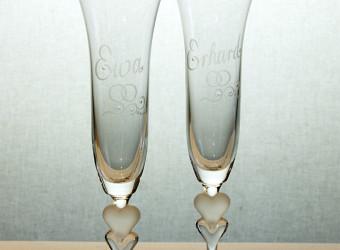 Gläser graviert 2