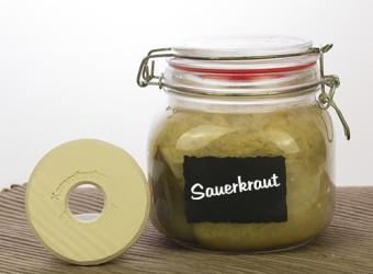 Beschwerungsstein 7,5cm Sauerkraut Glas geschl