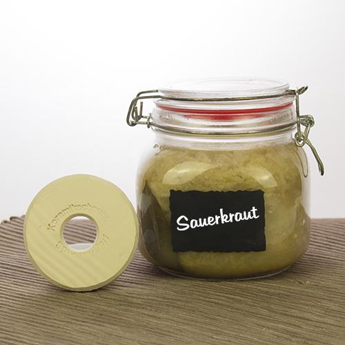 sauerkraut oder gurken im einmachglas schnell selbst gemacht keramikscheune spickendorf. Black Bedroom Furniture Sets. Home Design Ideas