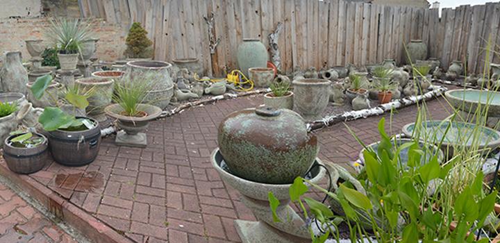 01 aussengel nde gartenkeramik antik keramikscheune spickendorf - Gartenbrunnen keramik ...
