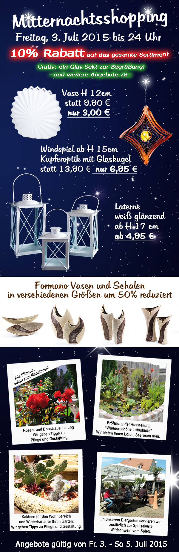 Mitternachtsshopping Newsletter 2015
