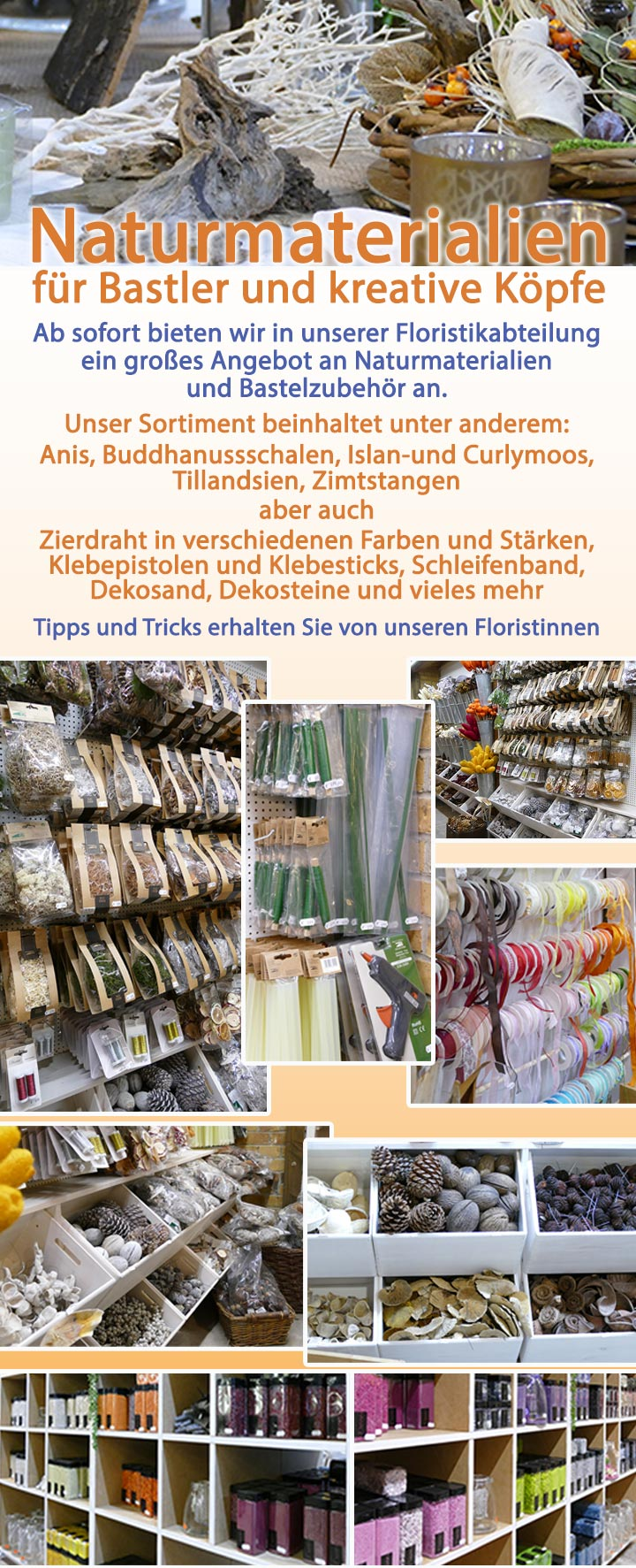 Newsletter-Naturmaterialien-Homepage