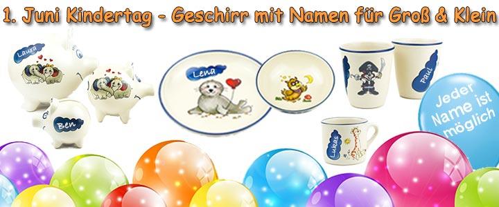 Kindertag-Kindergeschirr-Homepage