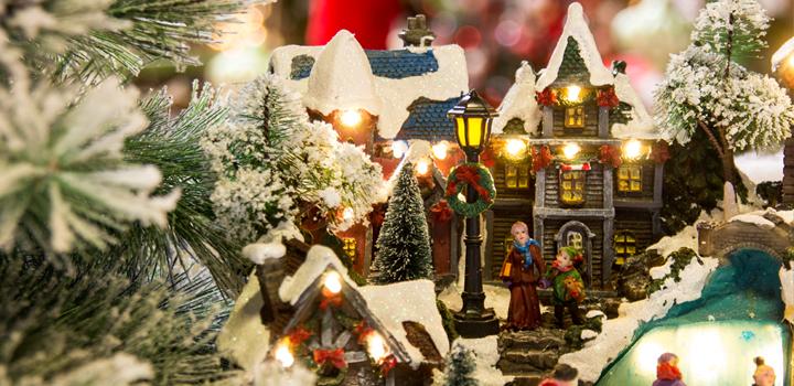 Weihnachtsetage eröffnet